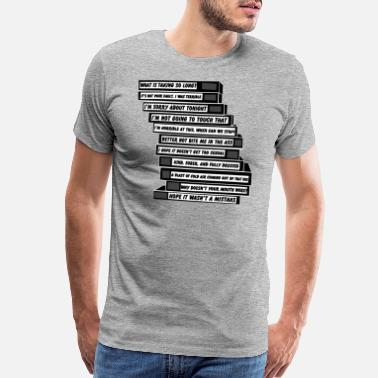 Brooklyn Brooklyn Nine-Nine. Tapes. - Men's Premium T-Shirt
