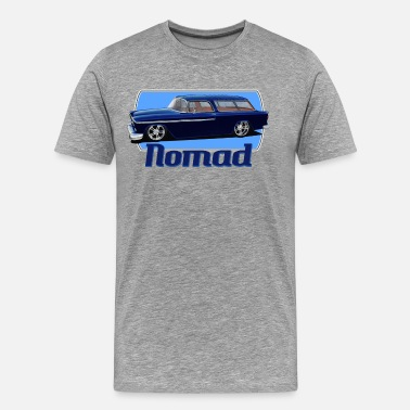 Tri Chevy nomad_alone - Men's Premium T-Shirt
