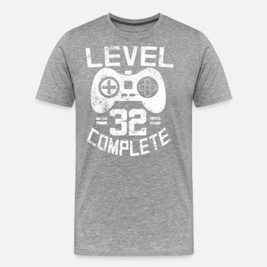 32 Years Old Level 32 Complete - Men's Premium T-Shirt