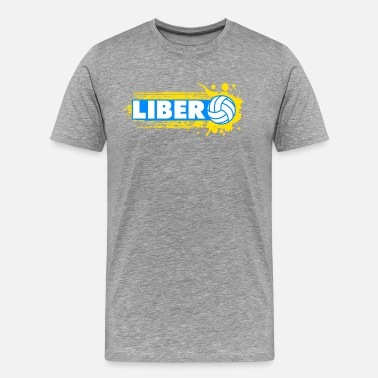 Volleyball Setter Libero Libero Volleyball - Men's Premium T-Shirt