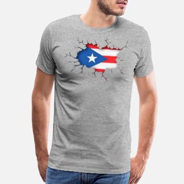 ae8d5825feb4 Puerto Rico Puerto Rican Inside - Boricua Puerto Rico Flag - Men's Premium  T-Shirt