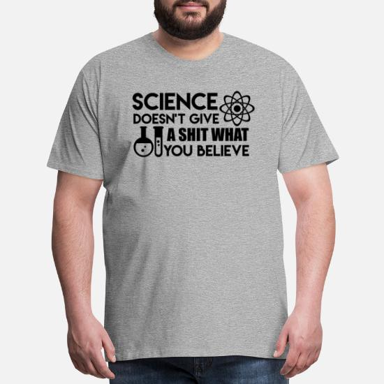 Science Geek Math Crewneck Sweatshirt Doesnt Give A Sh*t What You Believe