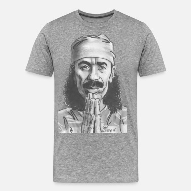 Santana Music Gwiz Art Santana - Men's Premium T-Shirt