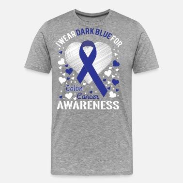 Colon Cancer Awareness Men S T Shirt Spreadshirt