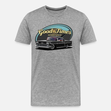 Speed Garage Good Times Impala - Men's Premium T-Shirt