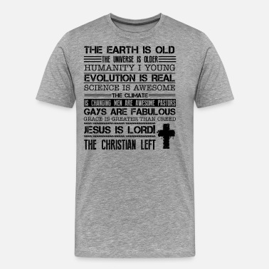 Adventist We Are The Christian Left Shirt - Men's Premium T-Shirt