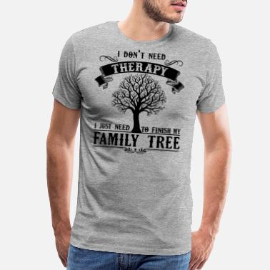 Tree Genealogy My Family Tree Shirt - Men's Premium T-Shirt