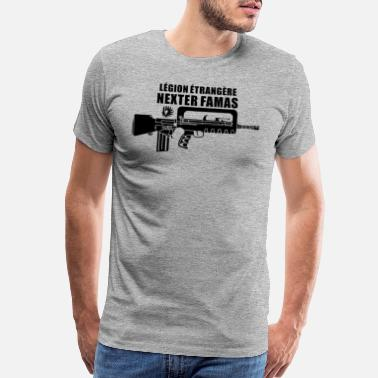 Foreign Word Famas French Foreign Legionnaire - Men's Premium T-Shirt
