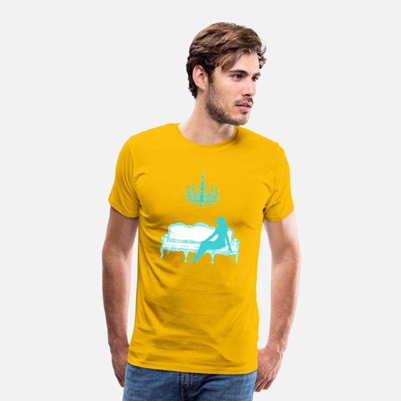 8adb8ec7f0a2 Breakfast at Sofie s logo (tiffany blue)(no name) Men s Premium T-Shirt