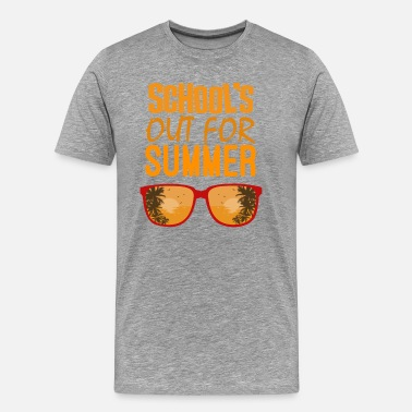 Schools Out SCHOOL'S OUT Holiday Gift - Men's Premium T-Shirt