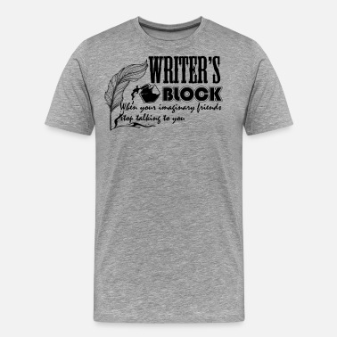 Writers Block Writer's Block Shirt - Men's Premium T-Shirt