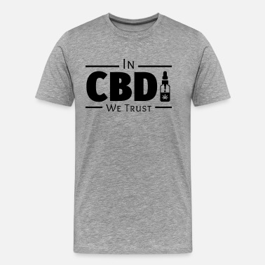 Supplements In CBD We Trust - Men's Premium T-Shirt