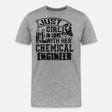 Love It Engineer In Love With Chemical Engineer - Men's Premium T-Shirt