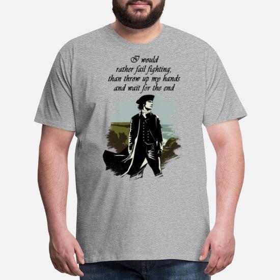 Ross Poldark Quote Men's Premium T-Shirt | Spreadshirt