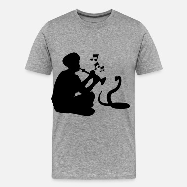 India Yoga India - Men's Premium T-Shirt