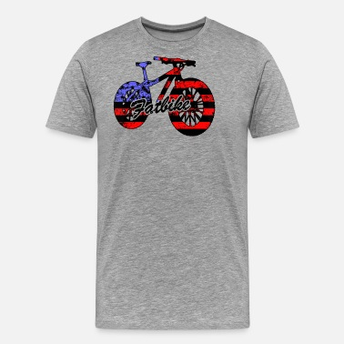 Fat Biking Fat Bike Shirt - Fat Bike T shirt - Men's Premium T-Shirt
