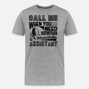 Warranty Best Administrative Assistant Shirt - Men's Premium T-Shirt