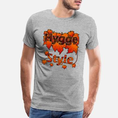 Hygge Style Autumn Season - Men's Premium T-Shirt