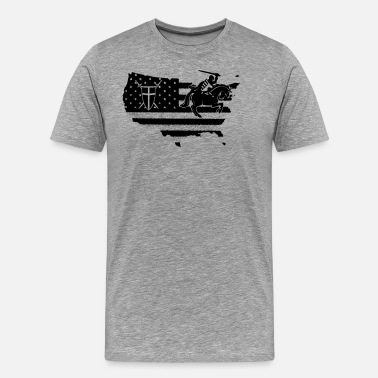 Crusader Flag Crusader Shirt - Men's Premium T-Shirt