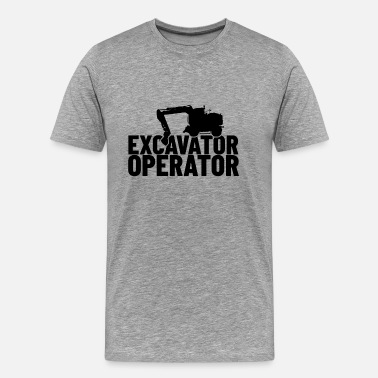 Sandbox Excavator Operator Gift Shirt for Kids and Adult - Men's Premium T-Shirt