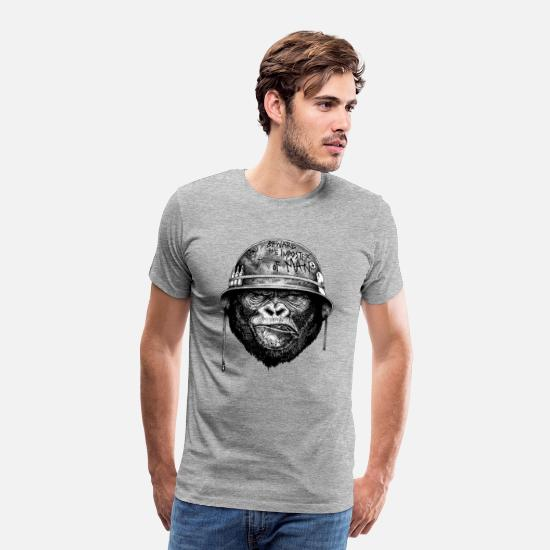 Collection T-Shirts - The Imposter Man - Men's Premium T-Shirt heather gray