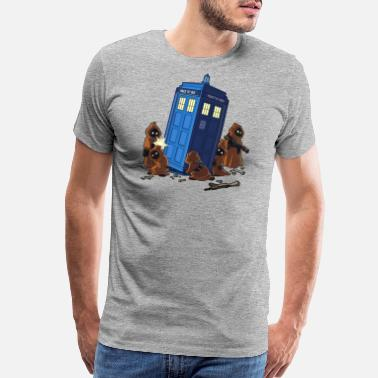 Dr Who Star Wars Dr Who Tardis - Men's Premium T-Shirt