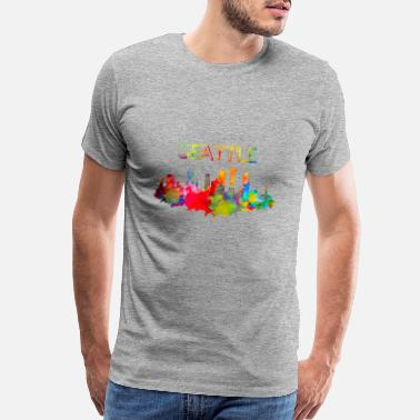 Seattle Seattle - Men's Premium T-Shirt