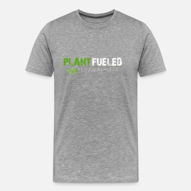 Plant Fueled Plant Fueled Vegan Athlete - Men's Premium T-Shirt