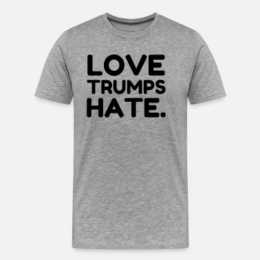 Donald Trump 2016 Love Trumps Hate - Men's Premium T-Shirt