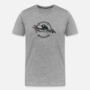 Wars Heinkel He162 Spatz Salamander German Jet WW2 - Men's Premium T-Shirt