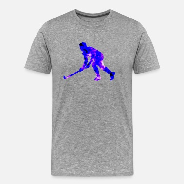 Artwork Graphics Hockey Exclusive Design Gift Idea Graphic artwork - Men's Premium T-Shirt