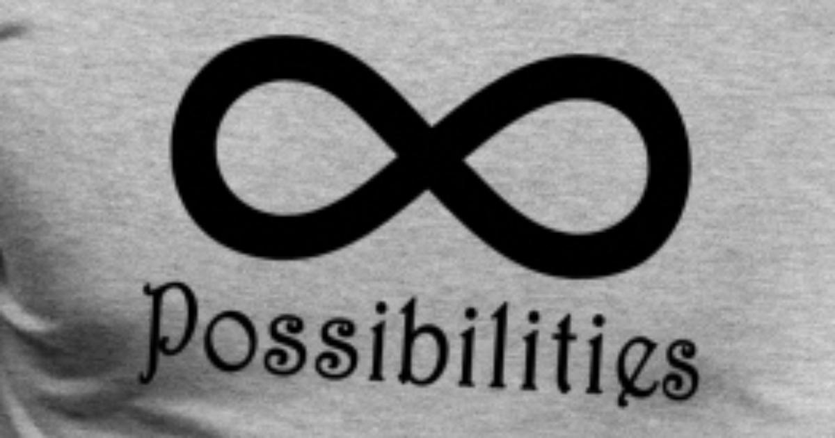 6d01449022f3 Infinite Possibilities T-Shirt Men s Premium T-Shirt