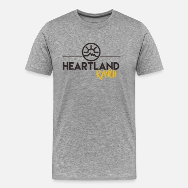 Ranch Horse Heartland Ranch - Men's Premium T-Shirt