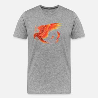 Red Phoenix Phoenix - Men's Premium T-Shirt