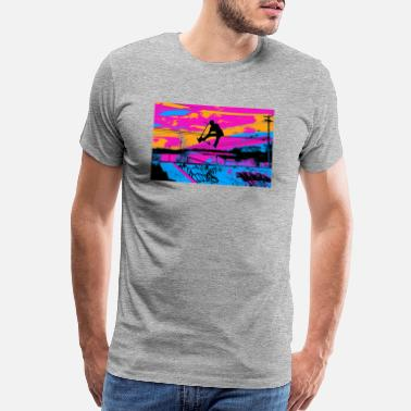 Let's Fly! - Stunt Scooter - Men's Premium T-Shirt