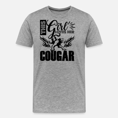 Cougar Love This Girl Loves Cougar Shirt - Men's Premium T-Shirt