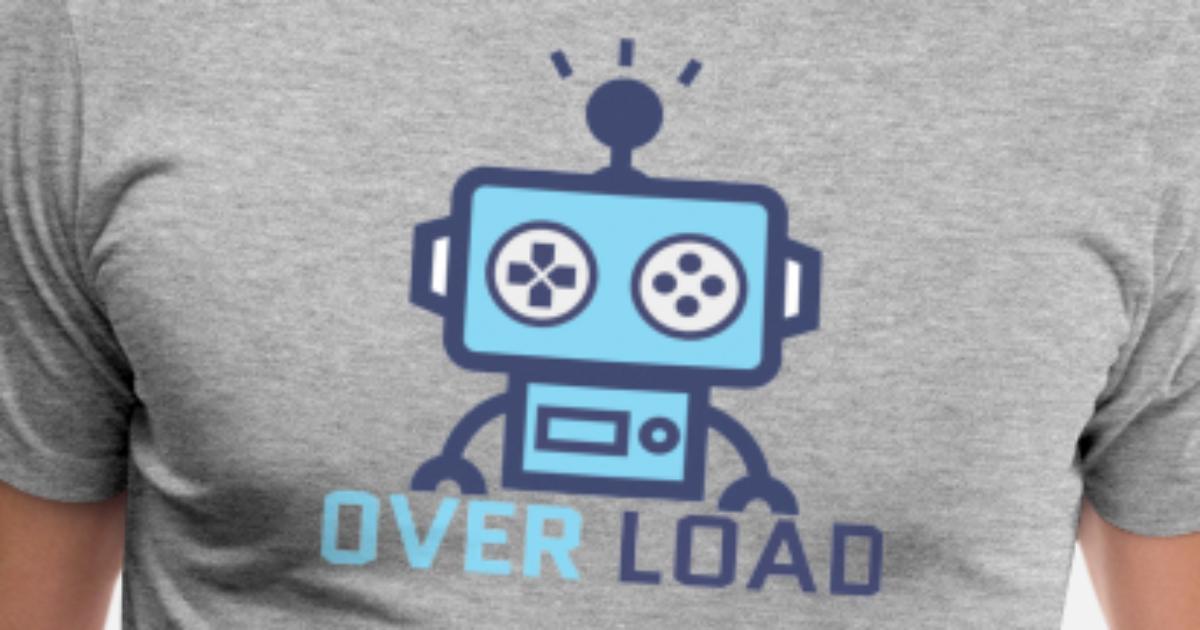 OverLoad Discord Merch Men's Premium T-Shirt | Spreadshirt