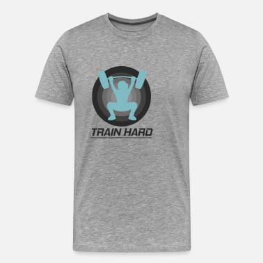 Hard Body Train hard every day for this body - Men's Premium T-Shirt