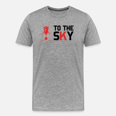 Skyline Of Berlin Fly To The Sky Funny Cool Men's and Women's Tshirt - Men's Premium T-Shirt