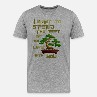 Bonsai Tree Bonsai 3 - Men's Premium T-Shirt