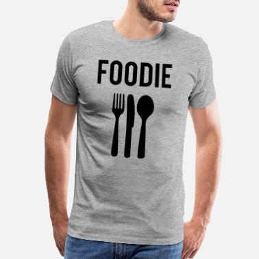 Foodie Foodie - Men's Premium T-Shirt