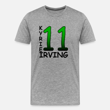 Boston Sports Kyrie Irving 11 - Men's Premium T-Shirt