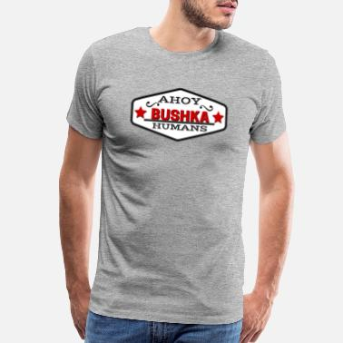 TRANSPARENT ahoy humans - Men's Premium T-Shirt