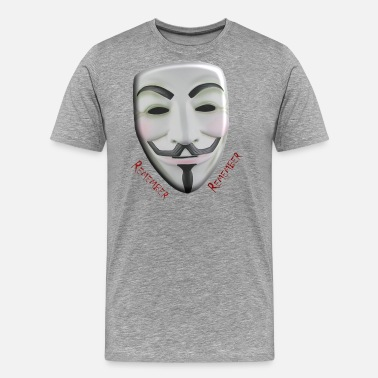 Guy Fawkes Mask Guy Fawkes - Men's Premium T-Shirt