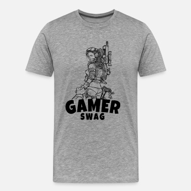 Hardcore Gamer Gaming T-Shirt The perfect gift idea. - Men's Premium T-Shirt