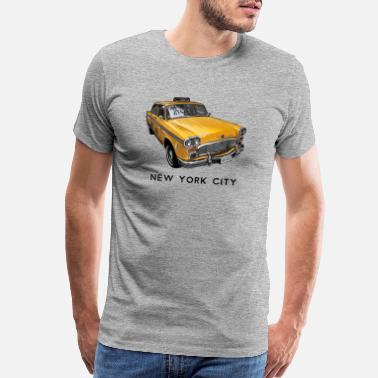 New York City Taxi Cab - Men's Premium T-Shirt