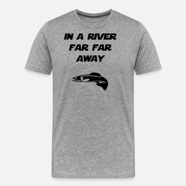 Far Right in a river far far away - Men's Premium T-Shirt