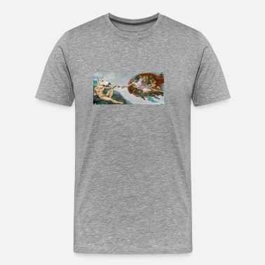 Famous Painting Unicorn's creation - Men's Premium T-Shirt