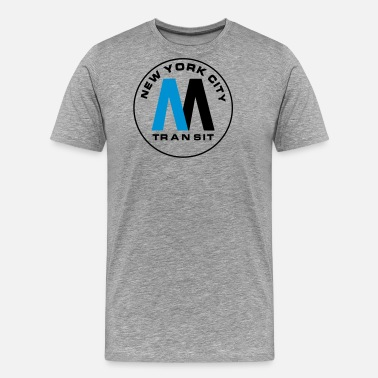 Nyc New York City Transit - Men's Premium T-Shirt