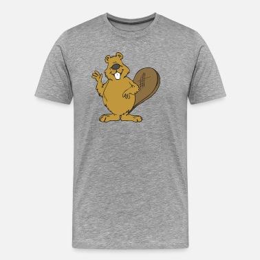86c4b55ca37e1 Spreadshirt T commander en Castor shirts à ligne qwTqY0